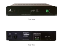ALL ONE-Power supply and signal source for up to 20 Speaker array